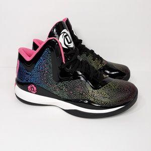 Adidas D Rose 773 III Multicolor Shoes Sz 5.5Y